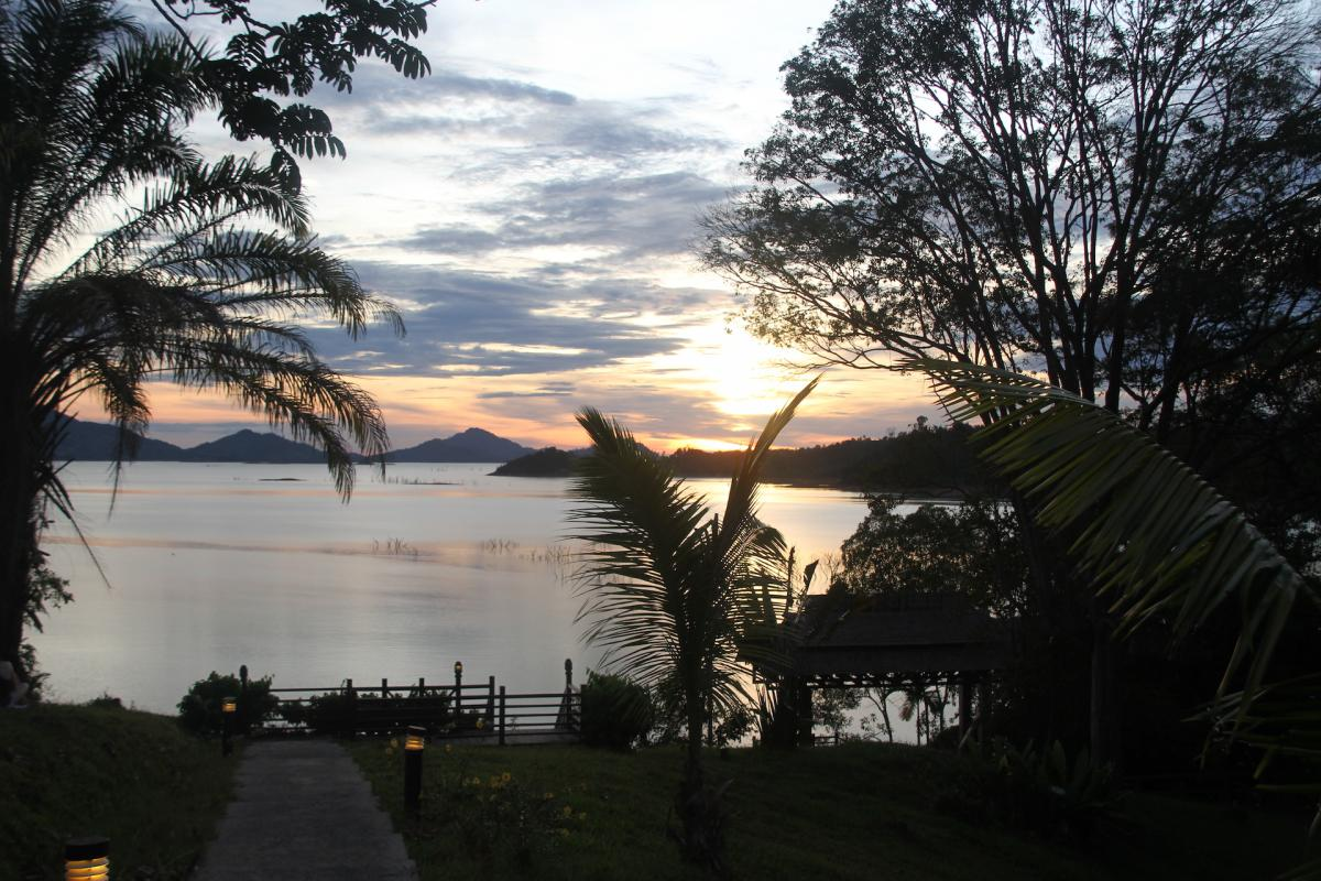 Batang Ai Tramonto