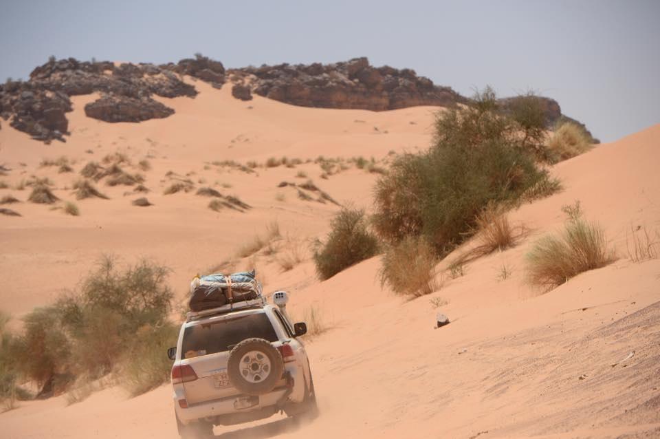 mauritania deserto jeep