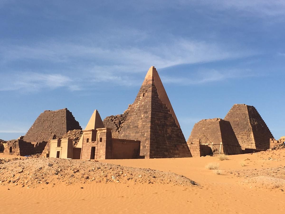 sudan piramidi